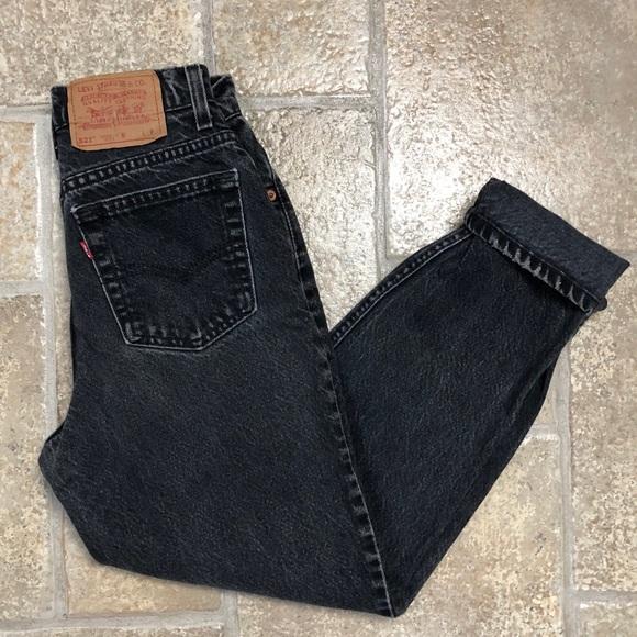 Levi S Jeans Levis Vintage Mom Black Poshmark
